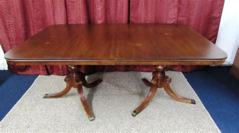 drexel travis court dining table lot detail drexel dining room table travis court