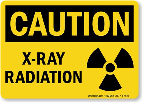 printable x ray radiation sign x ray radiation sign with graphic caution sku s 4539