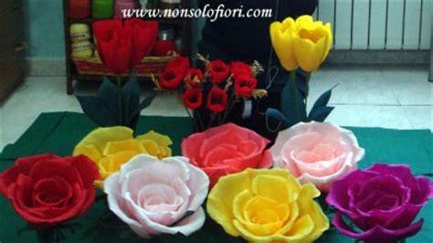 come fare fiori di carta crespa giganti vestiti da battesimo per bimbo tulipani di carta crespa
