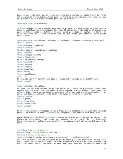 tutorial para utilizar latex tutorial share latex