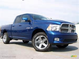 Blue Water Dodge 2009 Water Blue Pearl Dodge Ram 1500 Sport Cab