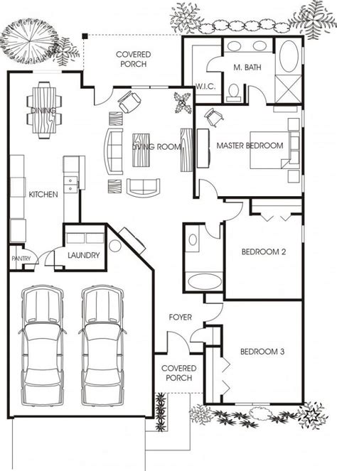 minimalist small house floor plans for apartment