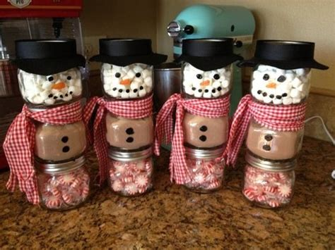 diy snowman jars for christmas giftsapplepins com
