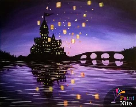 paint nite king of prussia paint castles and lanterns on