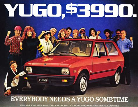 Yugo Auto by Yugo The Worst Car In The World Slavorum