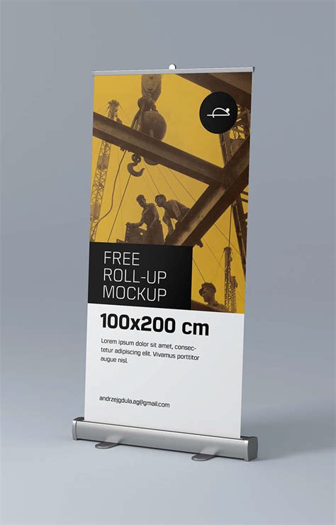 Free Up by Free Roll Up Mockups On Behance
