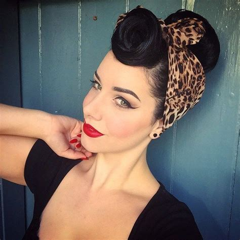 Rockabilly Hairstyles With Bandana by 1558 Best Images About Rockabilly Hairstyles And Colors