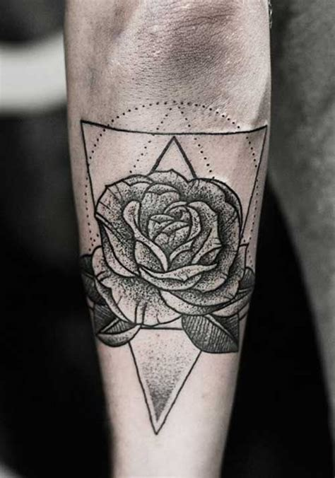 geometric flower tattoo geometric flower tattoos search tatuajes