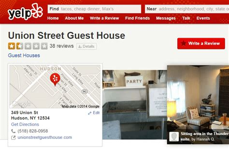 Union Guest House by How Not To Ask For Reviews A True Story About Local Seo