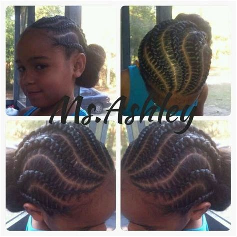 itching african bun hairstyles curvy cornrows into a bun natural kids most popular