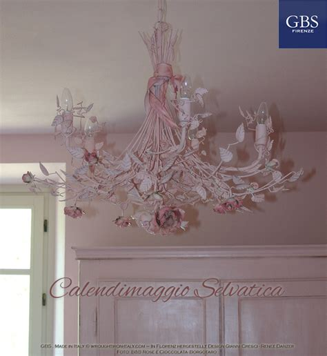 len wandleuchten chandelier calendimaggio roses with bow and ribbons gbs