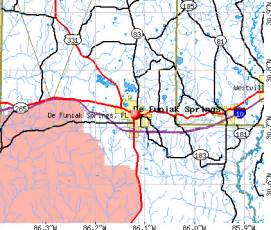 defuniak springs florida map de funiak springs florida fl 32433 32435 profile