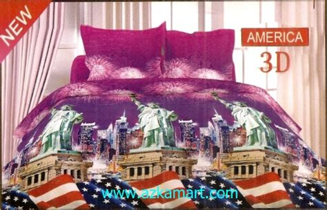 Bonita Disperse Sprei White Swan 180200cm sprei dan bed cover bonita 3 dimensi terbaru grosir sprei bedcover dan selimut murah