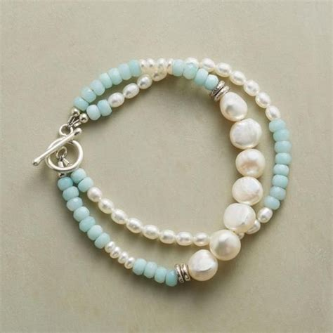 How To Sell Handmade Jewellery - 1000 ideas about pearl bracelets on pearl