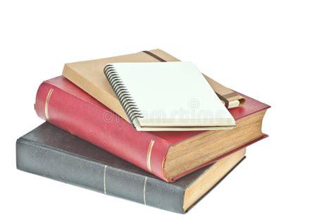cuaderno y libro de papel color nata imagen de archivo imagen 20134241