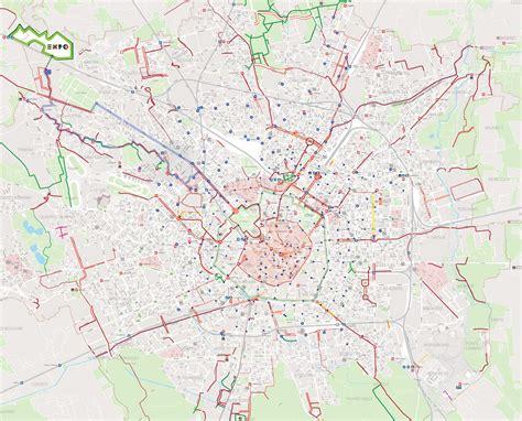 porta romana mappa la mappa delle piste ciclabili repubblica it