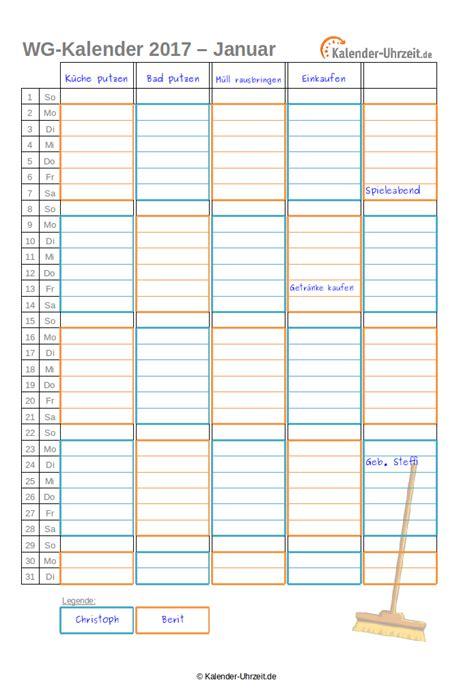 Kalender 2015 Monatsweise Kalender 2017 Zum Ausdrucken Kostenlos