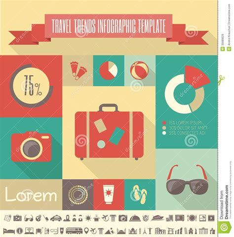 Travel Infographic Template Royalty Free Stock Images Image 35689529 Travel Infographic Template