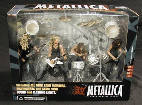 metallica deluxe boxed set mcfarlane toys metallica figures at entertainment earth