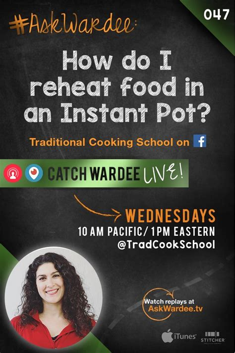 How To Find From School How Do I Reheat Foods In An Instant Pot Askwardee 047