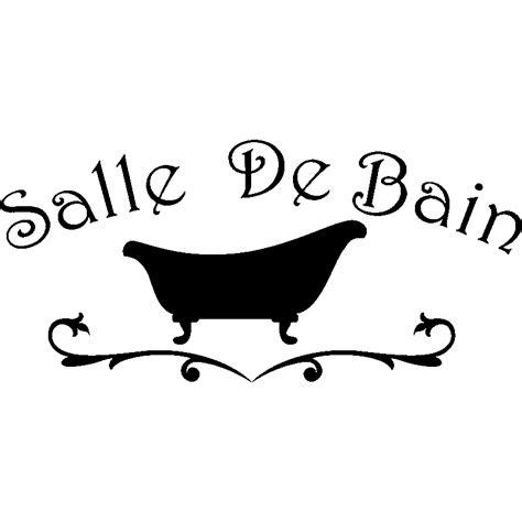 Logo Baignoire by Sticker Salle De Bain Design Baignoire Pas Cher Stickers