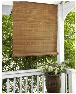escape the heat with these cheap porch shades common - Cheap Patio Blinds