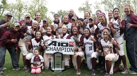 Fordham Mba Deadline by Softball Announces Fall C Dates