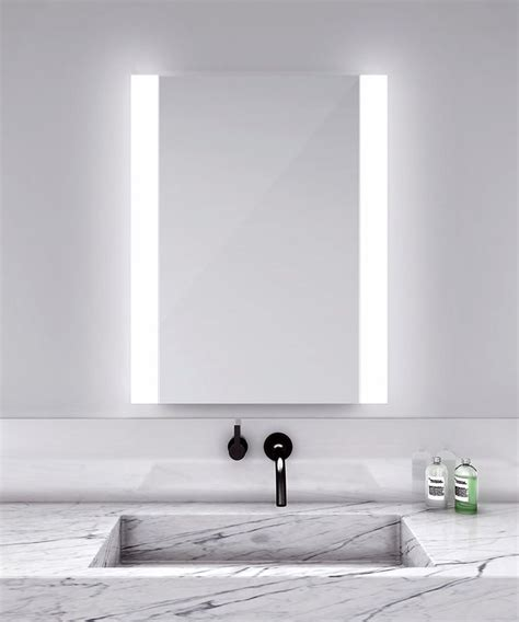 lighted mirrors for bathrooms modern modern bathroom lighting by dvi lighting modern bathroom