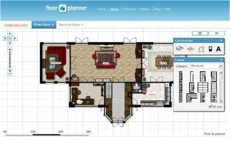 free online floor plan tool 10 small blue printer garden planner
