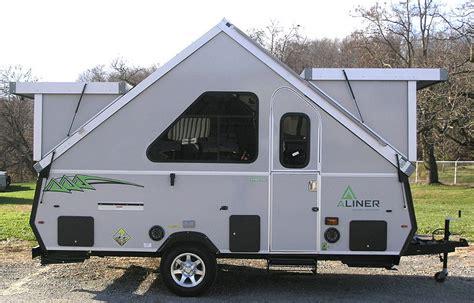 Aliner Dormer Rockwood Hard Side Pop Up Campers Folding Camping Trailers