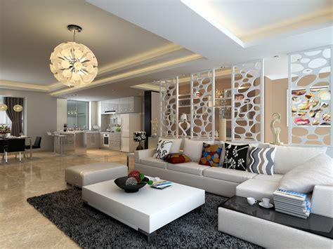 Living Room New Style 2013最新现代风格客厅隔断装修效果图 土巴兔装修效果图
