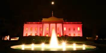 white house lighting white house finally reveals why it won t light up blue for
