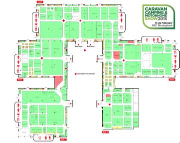 nec birmingham floor plan find your way around the nec birmingham caravan show with