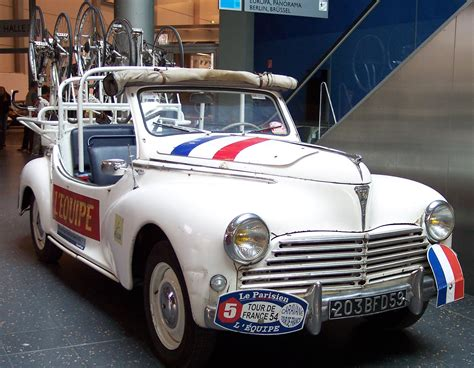 File Peugeot 203 Tour De France Fahrzeug 1954 Tce Jpg
