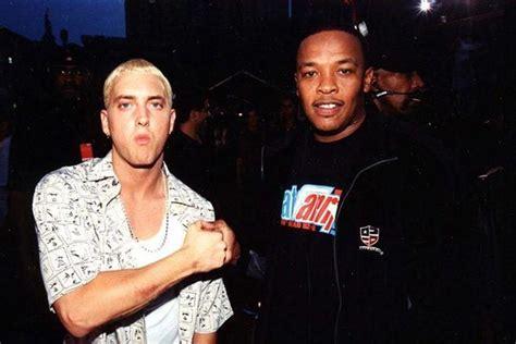 Eminem And Back Together by Eminem Dr Dre Are Back In The Studio Together Hype
