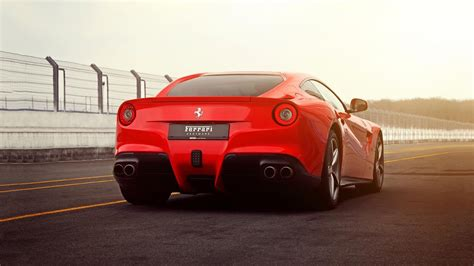 ferrari f12 back cars ferrari back view ferrari f12 berlinetta wallpaper