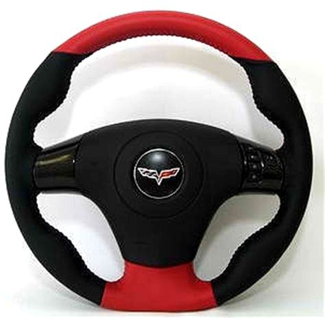 c6 corvette d style leather steering wheel rpidesigns