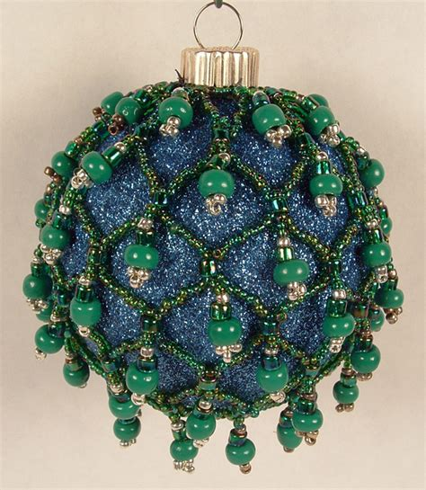 how to make beaded ornaments the crafty