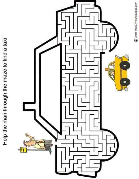 maze template free coloring pages of maze batman