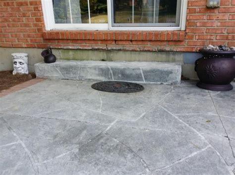 Do It Yourself Concrete Patio by Deck Concrete Patio Doityourself Community Forums
