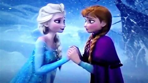 anna und elsa film teil 2 disney s frozen anna saves elsa get the movie youtube