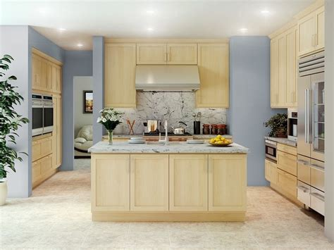 Rta Shaker Kitchen Cabinets by Natural Maple Kitchen Cabinets