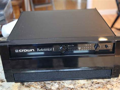 crown studio reference  solid state audiogon