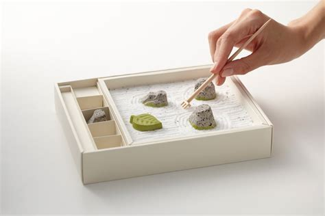 Desk Planter by An Edible Zen Rock Garden Made From Japanese Sweets Colossal