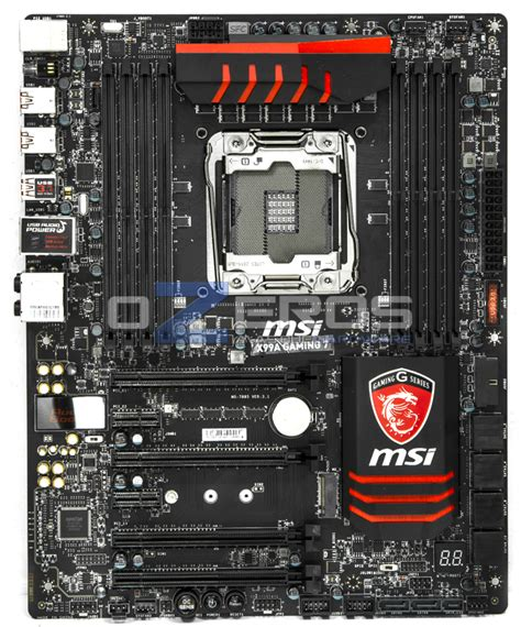 Msi X99a Gaming 7 Intel Lga 2011 3 Haswell Refresh review placa madre msi x99a gaming 7 un refrito con usb 3 1 ozeros