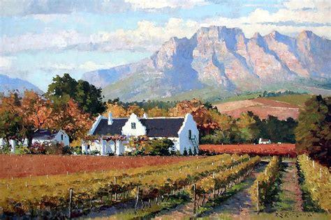 Colors To Paint Your House cape dutch wine farm by roelof rossouw