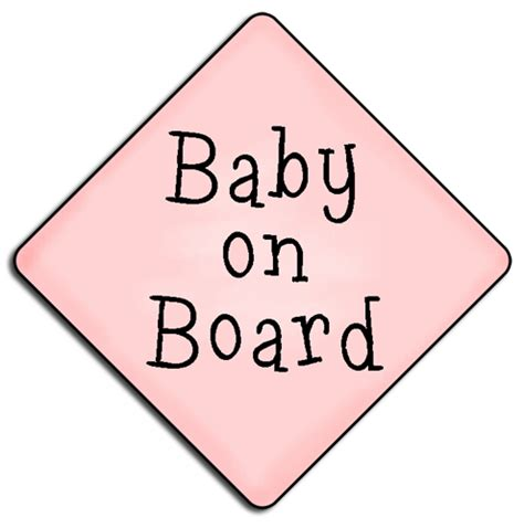 Baby On Board Sign Apple ref794 baby on board 163 0 17 commercial use clip