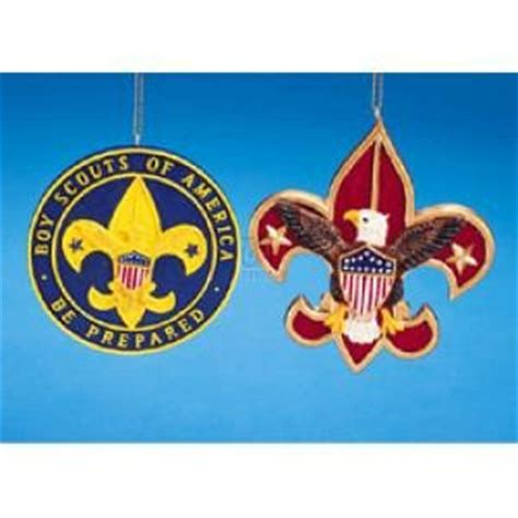 amazon com flatback resin boy scout emblem ornament