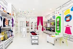 Barber Shop Floor Plan piccino children fashion store by quespacio valencia