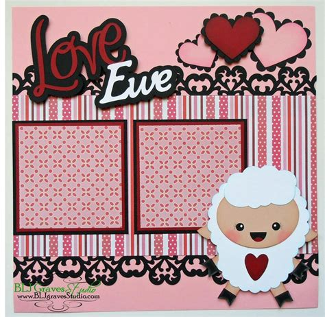 Valentines Scrapbooking Idea by 153 Best Scrapbook Layouts Images On